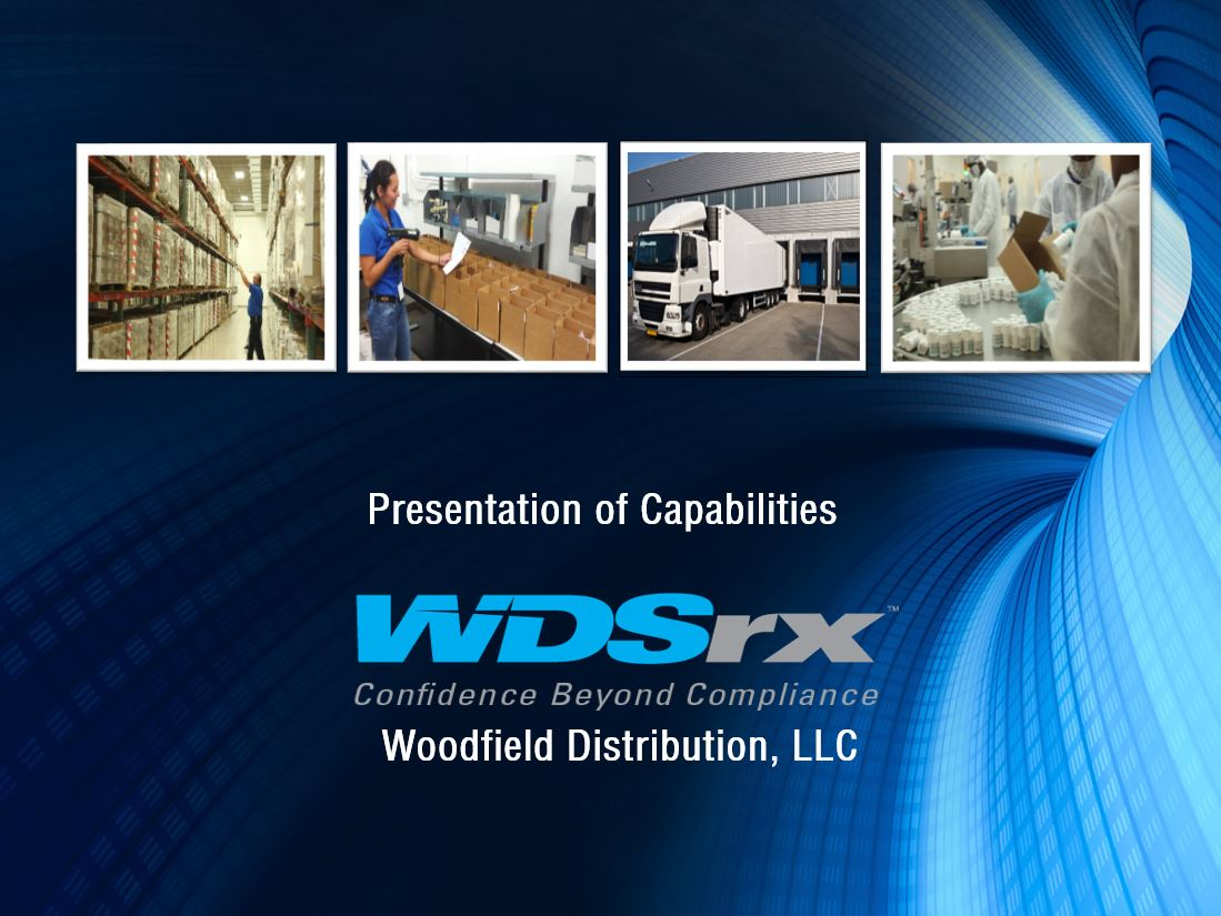 Presentation of Capabilities that WDSrx provides with 3PL Services