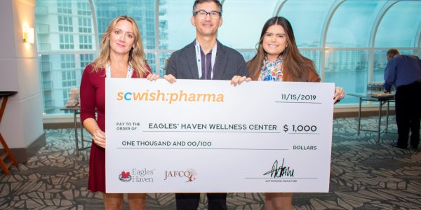 Eagles' Haven Wellness Center Receives $2,000 Donation To Support Services For Marjory Stoneman Douglas Community