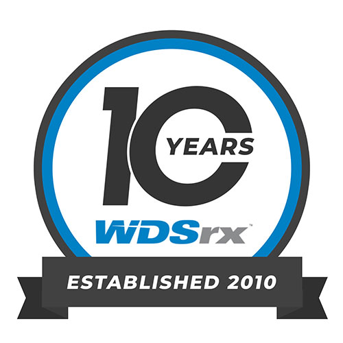 WDSrx is celebrating its ten year as an experienced logistics firm