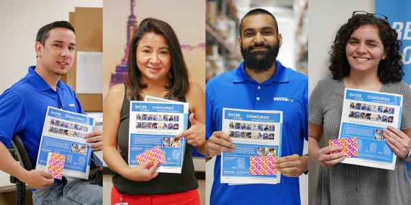 WDSrx Employees Accept Prizes for Winning Contest