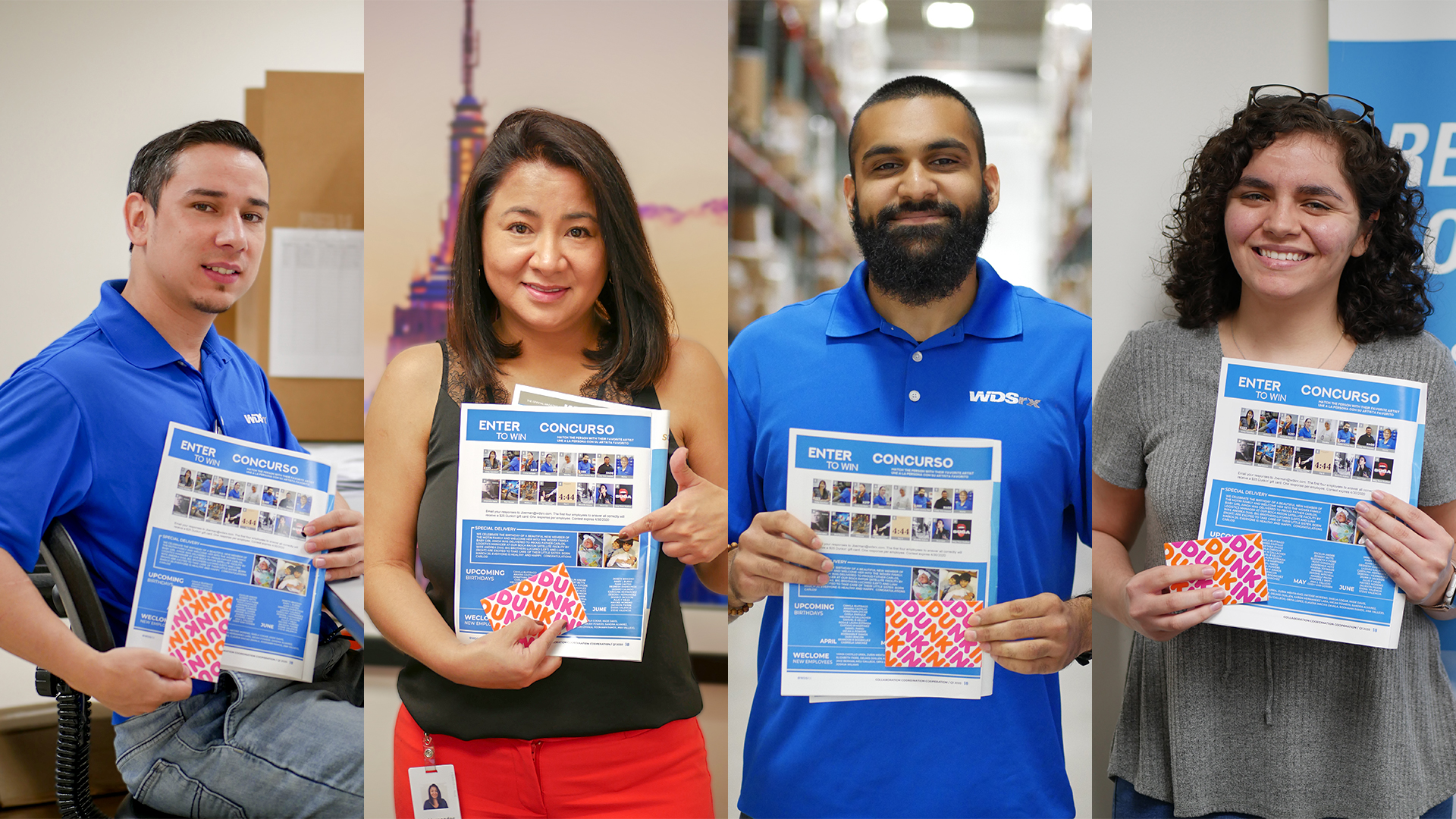 Contest winners from Advance Q1 2020