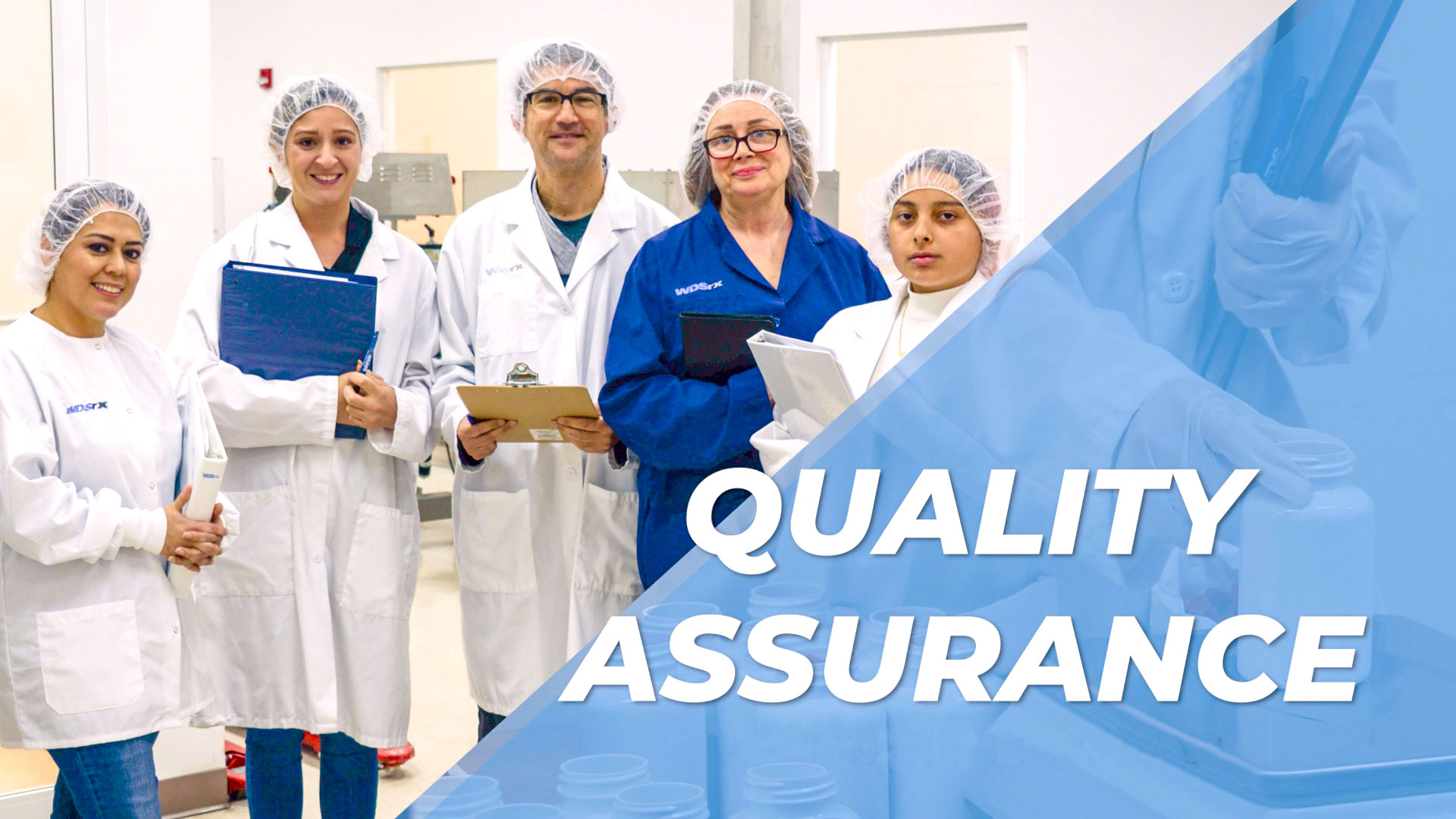 The quality assurance team oversees that sops and other policies are in place for the pharmaceutical logistics company WDSrx for news highlights