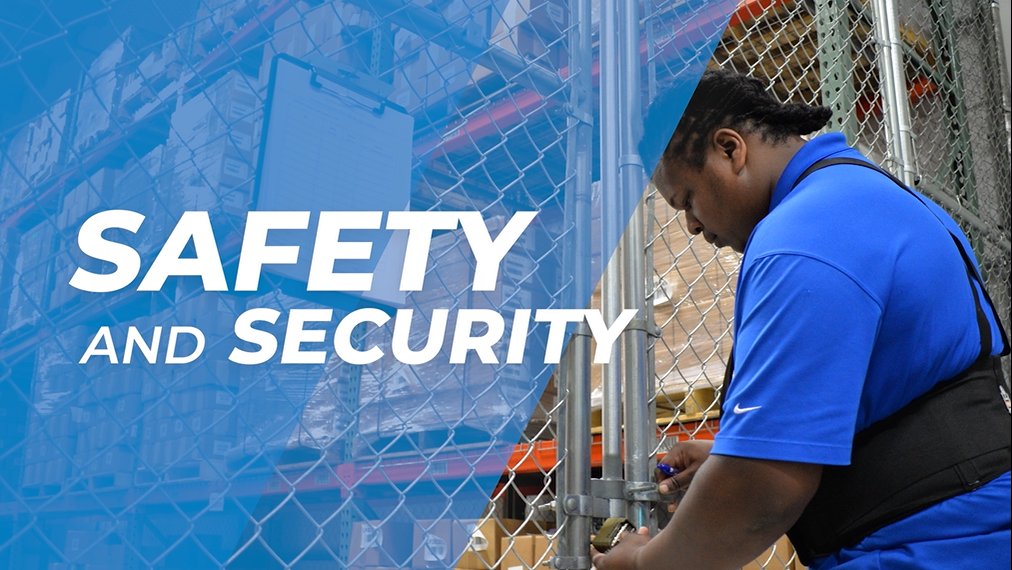 Safety and Security is one of the WDSrx Video Series.