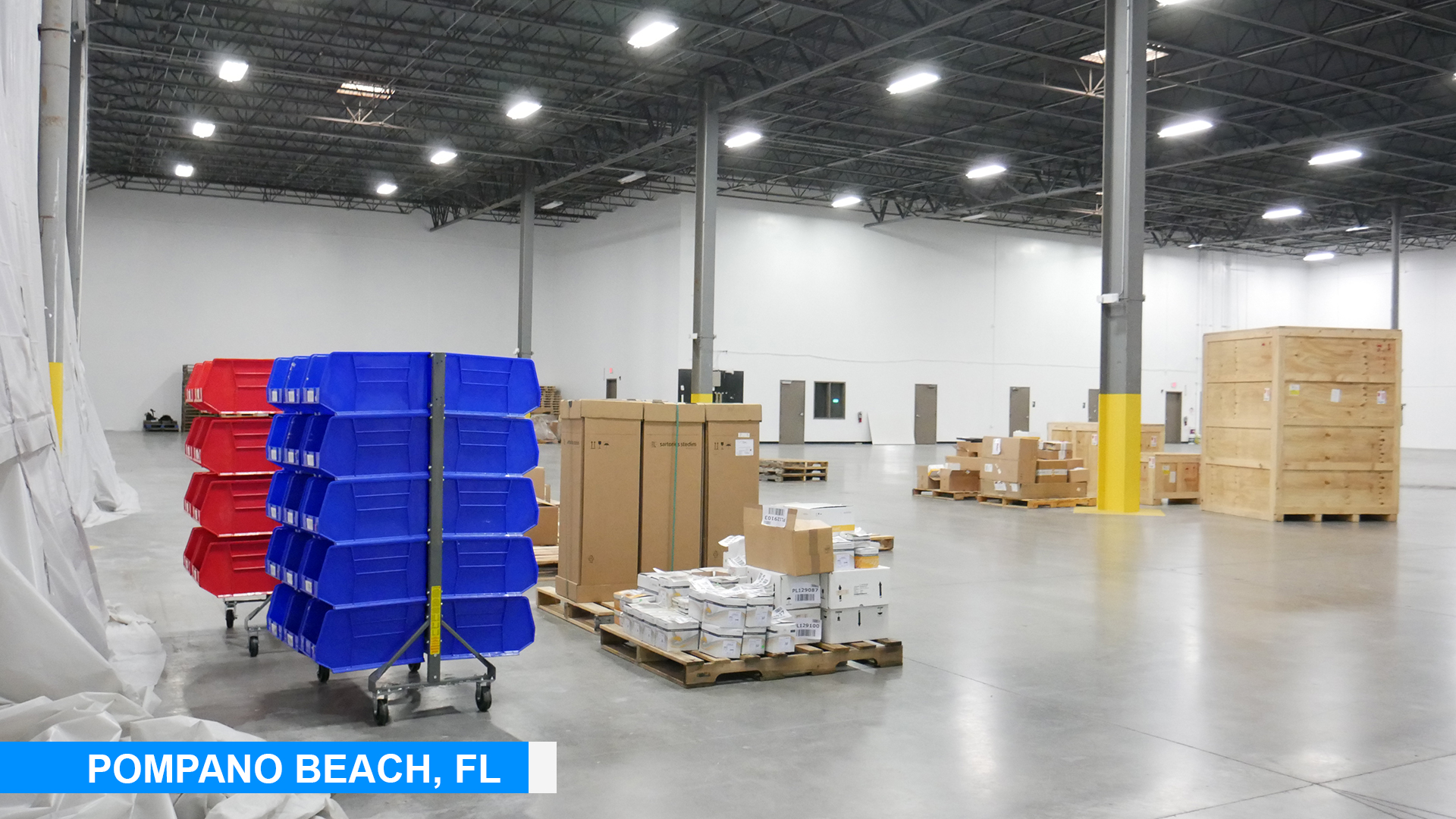 Planning for extended space at Pompano Beach, FL
