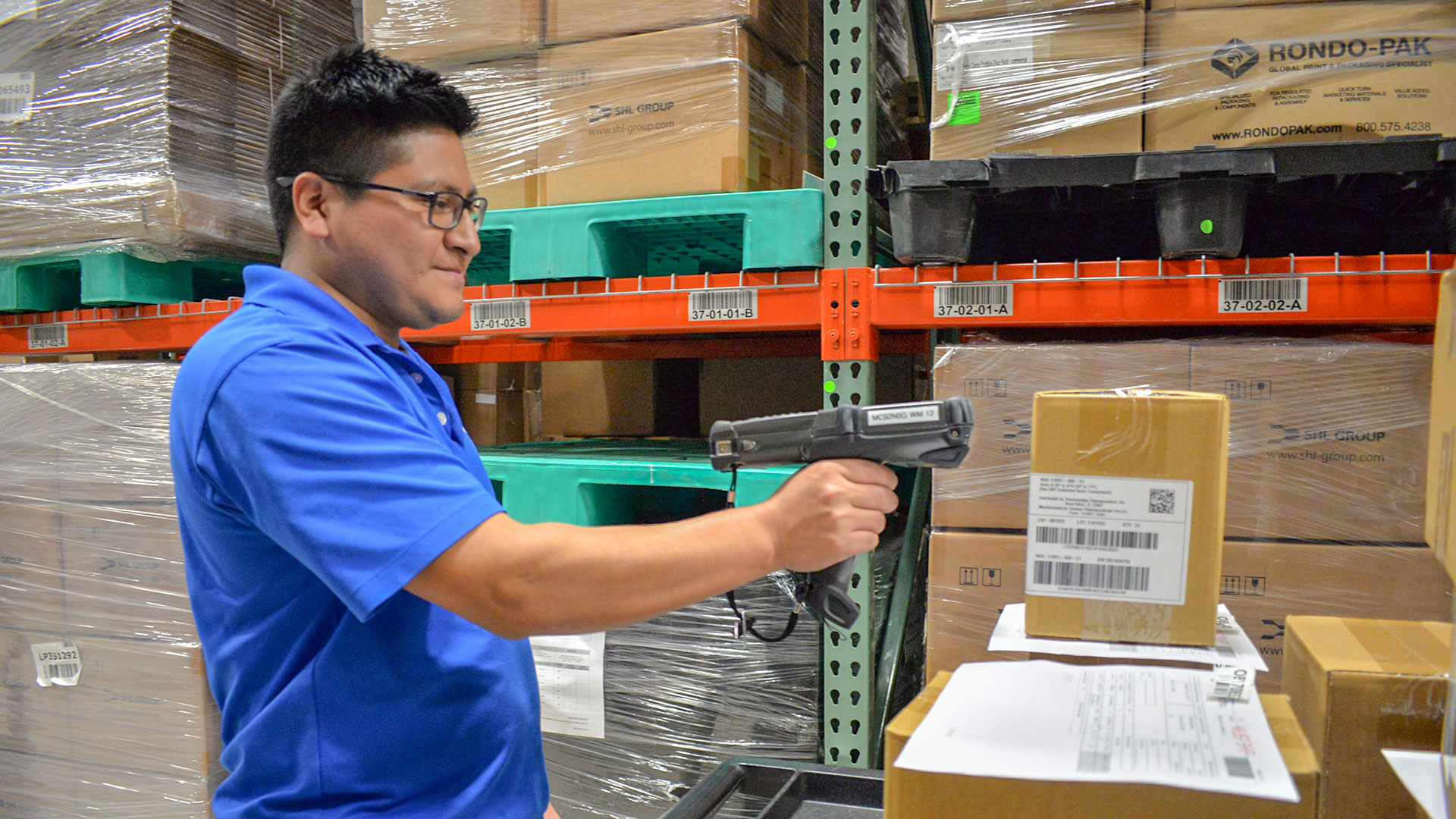 Handheld scan devices allow ease of data and communication for inventory management