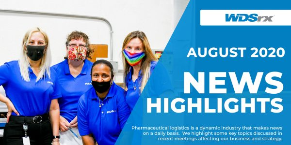 Keeping Up With WDSrx: August 2020 News Highlights